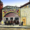 The Star Vaudeville Theatre In Westerly Ri In 1909 by Dwight Goss