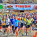 The Start Of The Spring Thaw Race by Digital Photographic Arts