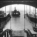 The Staten Island Ferry by Underwood Archives