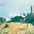 The Station At Sevres by Alfred Sisley