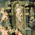 The Statue Of Ceres by Peter Paul Rubens