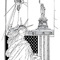 The Statue Of Liberty by Ira Shander
