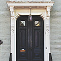The Stockade Door In Schenectady New York by Lisa Russo