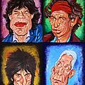 The Rolling Stones by Dan Haraga
