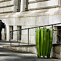 The Story Of Him Waiting And A Green Trashcan by Joanna Madloch