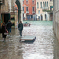 The Streets Of Venice by Christy Gendalia