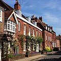 The Streets Of Winchester England by Lois Ivancin Tavaf