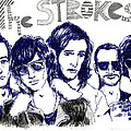 The Strokes by Mils Gan