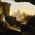 The Subsiding Of The Waters Of The Deluge by Thomas Cole