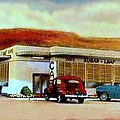 The Sugar Loaf Cafe In St. George Ut In The 40's by Dwight Goss