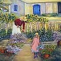 The Summer Garden by Loretta Luglio