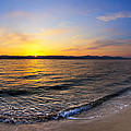 The Sun Rises Over The Red Sea In Egypt by Mark E Tisdale