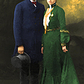 The Sundance Kid Harry Longabaugh And Etta Place 20130515 by Wingsdomain Art and Photography