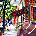 The Sunlit Shops by Mick Williams