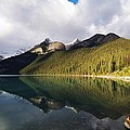 The Sunny Side Of Lake Louise by Indigo Wild Photography