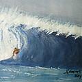 The Surfing by Fladelita Messerli-