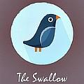 The Swallow Cute Portrait by Florian Rodarte