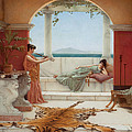 The Sweet Siesta Of A Summer Day by John William Godward