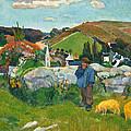 The Swineherd by Paul Gauguin