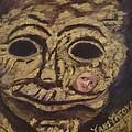 The Tattoed Mask by Janis  Tafoya