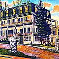 The Tavern Inn In Wilmington N Y In 1910 by Dwight Goss