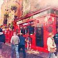 The Temple Bar In Dublin 01 by Miki De Goodaboom