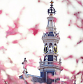 The Temple Bell Dies Away 1. Pink Spring In Amsterdam by Jenny Rainbow