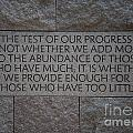 The Test Of Our Progress by Carol Ailles
