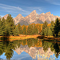The Tetons by Steve Stuller