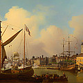 The Thames And Tower Of London On The King's Birthday by Mountain Dreams
