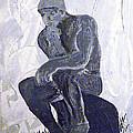 The Thinker by Josie Tokarski