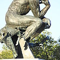 The Thinker Cleveland Art Statue by Valerie Collins