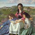 The Three Sisters Of Dean Liddell by Sir William Blake Richomond