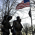 The Three Soldiers - Vietnam War Memorial by B Christopher