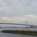The Throgs Neck Bridge by John Telfer