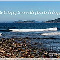 The Time To Be Happy Is Now by Barbara Griffin