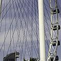 The Top Section Of The Marina Bay Sands As Seen Through The Spokes Of The Singapore Flyer by Ashish Agarwal