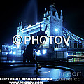 The Tower Bridge At Night  -  Limited Edition by Hisham Ibrahim