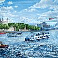 The Tower Of London by MGL Meiklejohn Graphics Licensing