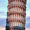 The Tower Of Pisa by Florian Rodarte