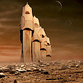The Towers Of Icarus II by Marc Ward