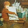 The Toy Castle by John Byam Liston Shaw