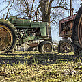 The Tractors Of Old by Jason Politte