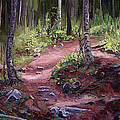 The Trail Series - Sunlight In The Wood by Frederick Hubicki