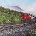 The Train West by Reb Frost