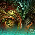 The Tree Of Life by Sandra Bauser Digital Art