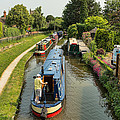 The Trent And Mersey Canal At Alrewas by Ann Garrett