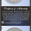 The Trillion Dollar Coin by Charles Robinson