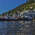 The Tugs In Ketchikan by Timothy Latta