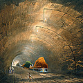 The Tunnel, From Coloured View by Thomas Talbot Bury